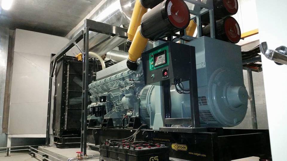 Lắp Đặt Máy Phát Điện 1000kva tại Phú Quốc