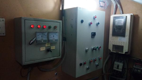 Lắp Đặt Máy Phát Điện Tại Chùa Pháp Bửu