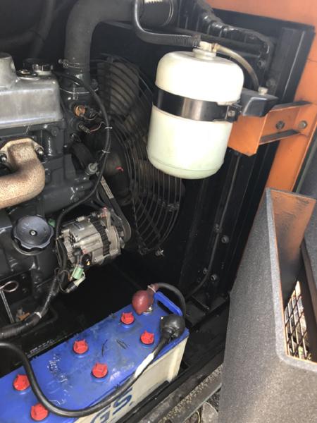 Máy phát điện Denyo 150kva cũ